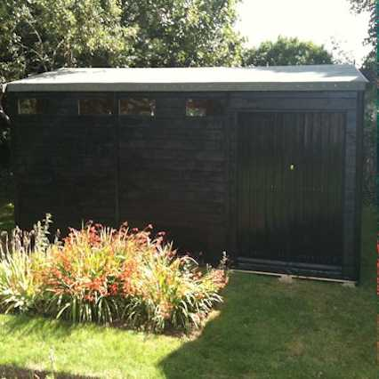 bespoke security shed