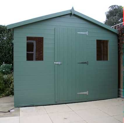 essex style garden shed