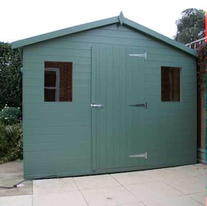 Garden sheds for sale supplier installer in colchester for Garden shed essex
