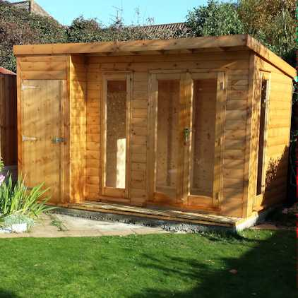 storsge shed summerhouse combp